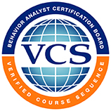 Verified Course Sequence Behavior Analysts Certification Board badge