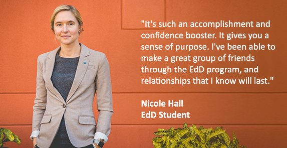 Nichole Hall EdD Student at Drexel University