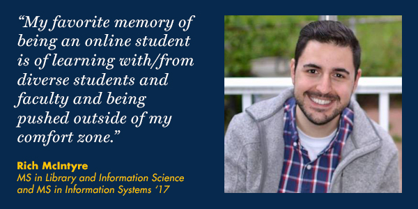 Rich McIntyre MS in Library and Information Science and MS in Information Systems Drexel Online Graduate