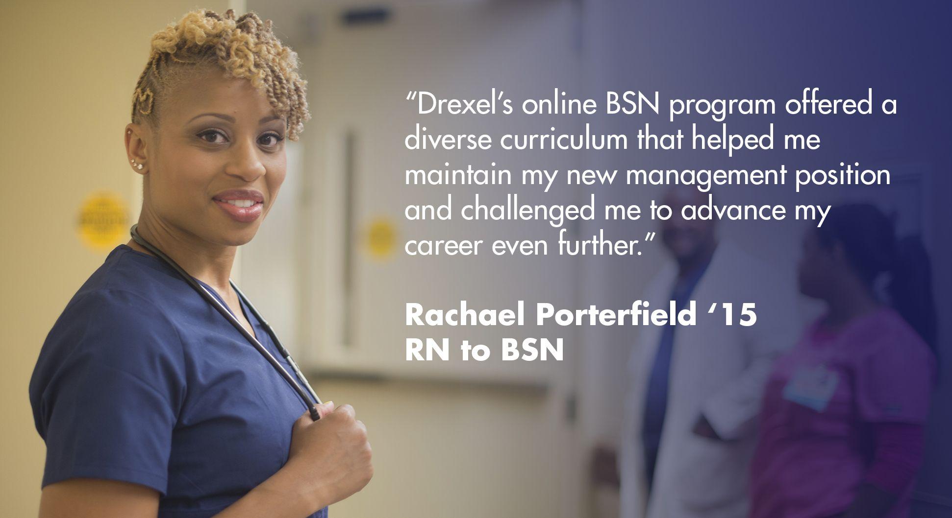 Rn To Bsn Online Nursing Program Drexel Online
