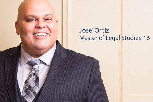Jose Ortiz Master of Legal Studies '16