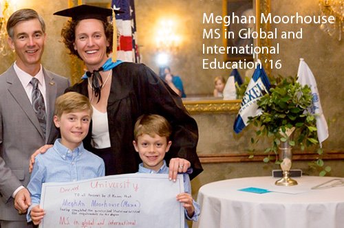 Meghan Moorehouse Global Education '16