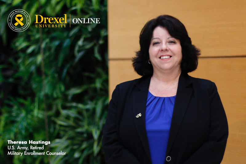 Theresa Hastings – U.S. Army, Retired and Drexel University Online Military Enrollment Counselor
