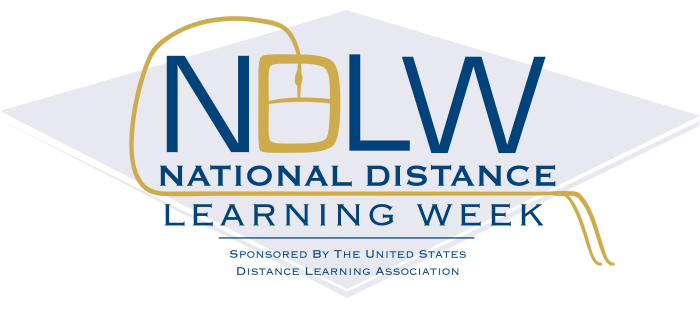 National Distance Learning Week logo